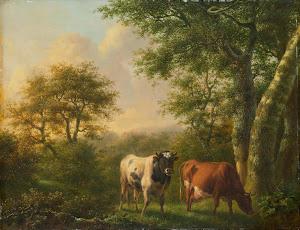 RIJKS: Adolf Karel Maximiliaan Engel: painting 1827