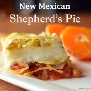 New Mexican Shepherd's Pie {Meatless Monday}