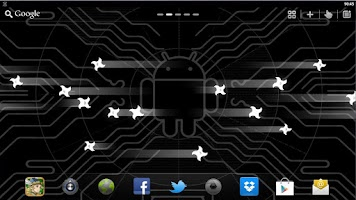 Screenshot of Next Nexus Live Wallpaper PRO