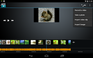 Screenshot of Video Maker Movie Editor