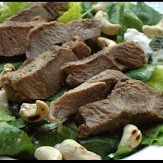 Middle Eastern Lamb Salad With Spinach & Feta (Low Carb)
