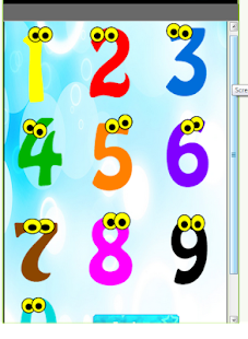 Learn colors numbers ad free - screenshot