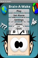 Screenshot of Brain-A-Wake
