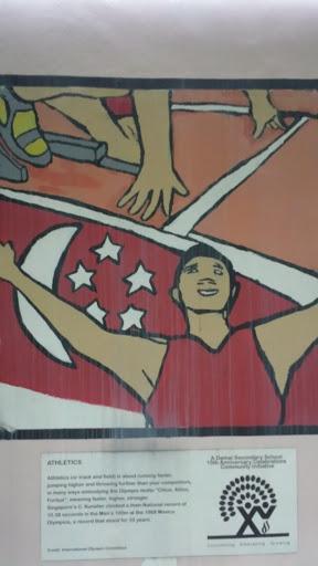 Athletics Mural