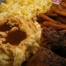 Maureen's Crock Pot Beef & Carrots in Wine