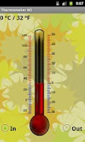 Screenshot of Thermometer HD