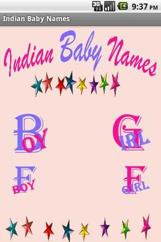 Indian Baby Names All Language