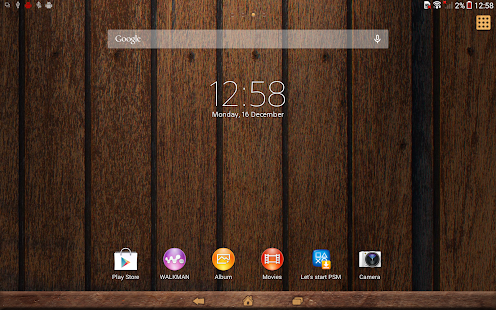 App XPERIA™ Woody Theme APK for Windows Phone