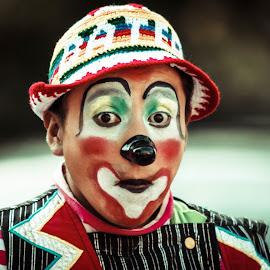 Clowns of Brooklyn  by Roy Johannessen - People Musicians & Entertainers ( clown, festival )