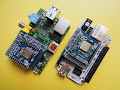 Pi and BeagleBone Adapter for emDuino