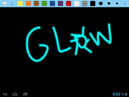 Screenshot of Drawings Board - finger paint
