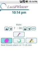 Screenshot of LucidWeaver Lucid Dream Timer