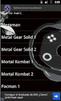 Screenshot of Mythical games Soundboard