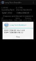 Screenshot of Mobile Radio Frequency