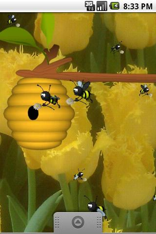 Busy Bees Live Wallpaper