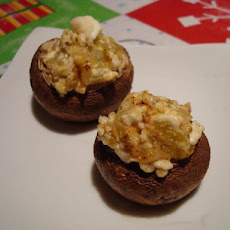 Stuffed Mushrooms With Feta