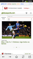 Screenshot of globo.com