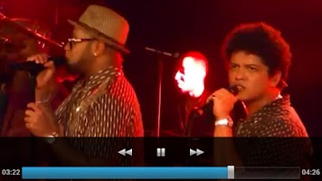 Screenshot of Bruno Mars