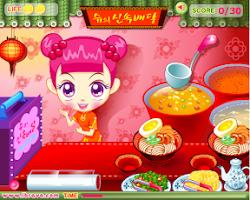 Screenshot of เกมส์ทำอาหารจีน