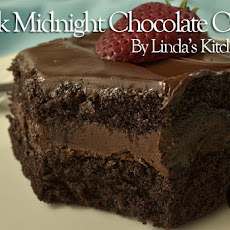 Black Midnight Chocolate Cake