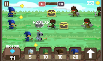 Screenshot of Pixel Kingdom
