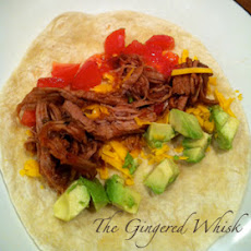 Crock Pot Spicy Shredded Pork Loin