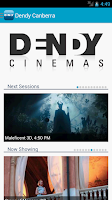 Screenshot of Dendy Cinemas