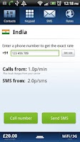 Screenshot of Localphone International Calls