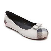 Burberry Check Design Pump BALLERINA