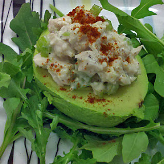 Avocados Stuffed with Chicken Salad