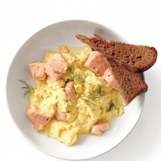 Salmon and Scrambled Eggs
