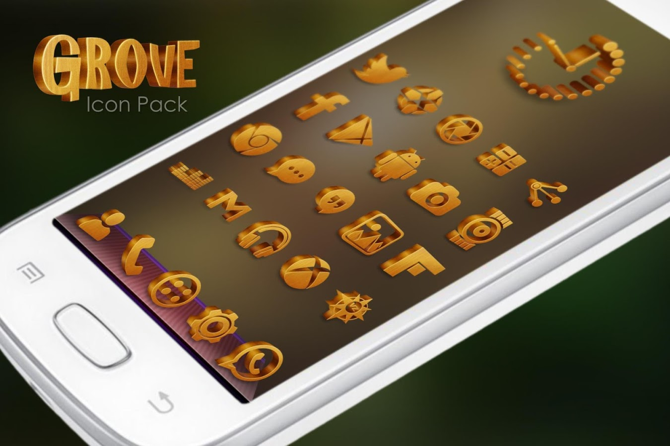 Grove Multilauncher Icon Pack Screenshot 12