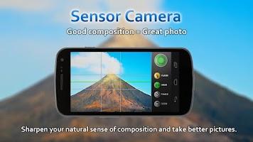 Screenshot of Sensor Camera