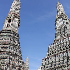 wat arun...... by Agung Unik - Buildings & Architecture Statues & Monuments