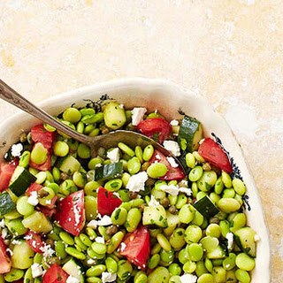 Middle Eastern Fresh Fava Bean Salad
