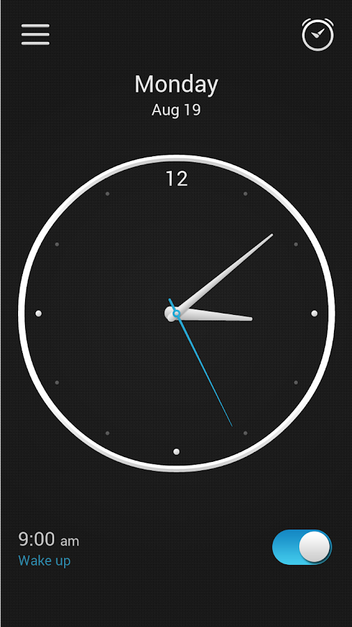Alarm Clock Screenshot