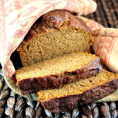 Whole Wheat- Olive Oil Pumpkin Bread