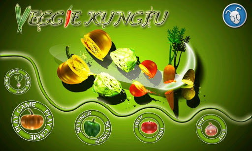 veggie-kung-fu-free-girls-game for android screenshot