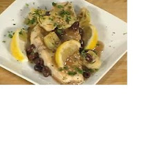 Pan Seared Swordfish Steak Provencal