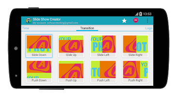 Screenshot of Slide Show Creator