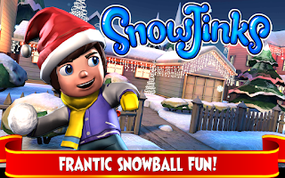 Screenshot of SnowJinks