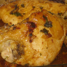 Sun Dried Tomato and Cilantro Baked Chicken