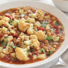 Chickpea, Cauliflower and Potato Curry
