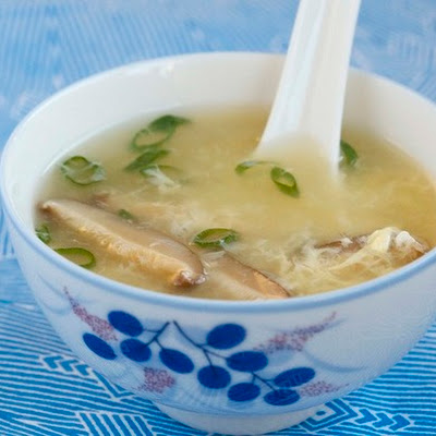 Egg Drop Soup from 'The Chinese Takeout Cookbook'