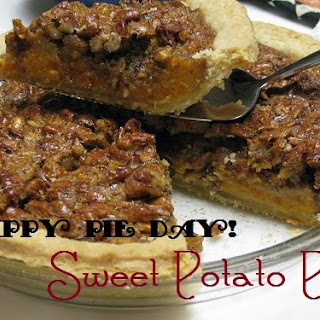 Happy pie day! Sweet Potato Pie