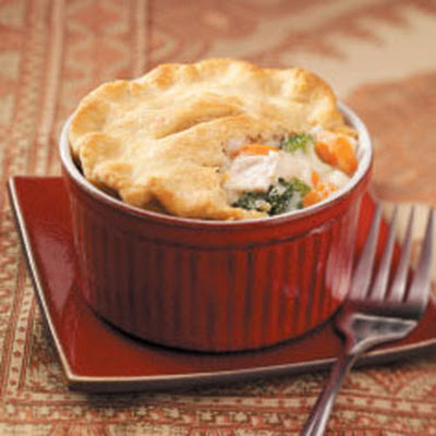 Individual Chicken Potpies