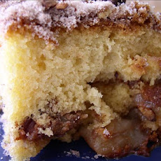 Sour Cream & Apple Coffee Cake
