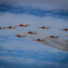 Snowbirds by Ron Meyers - Transportation Airplanes