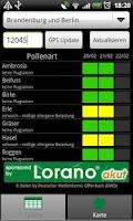 Screenshot of Pollen (de)