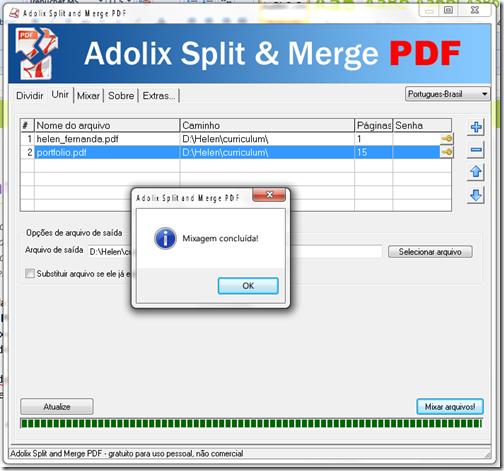 juntar pdf